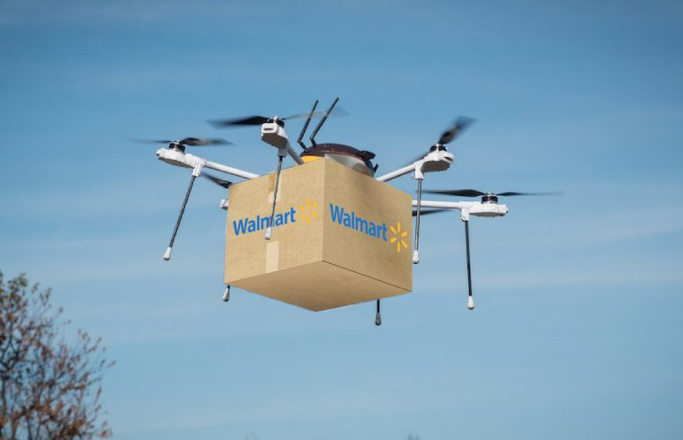 Walmart Delivery Drones To Be Tracked With Blockchain Tech