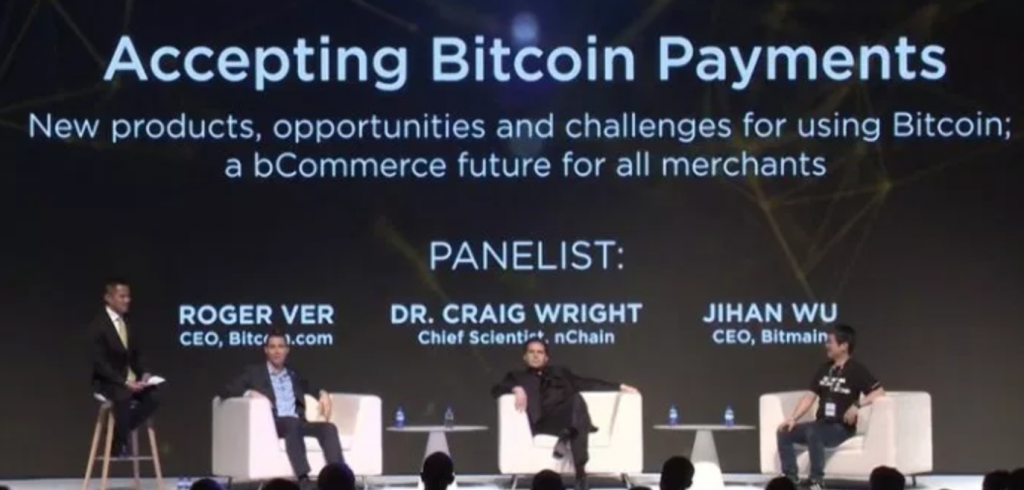 BCH Politics Craig Wright.