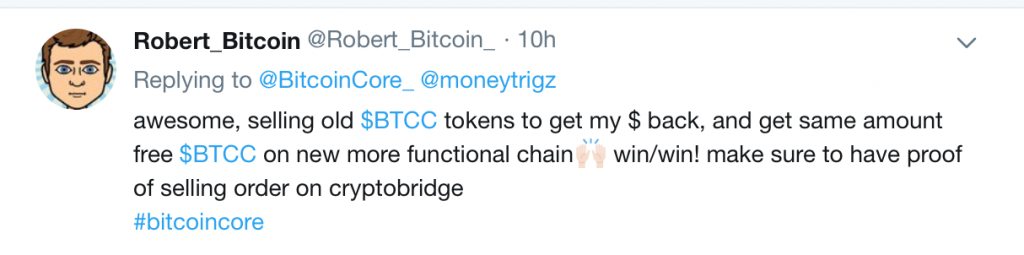 BTCC Bitcoin Core Robert Bitcoin.