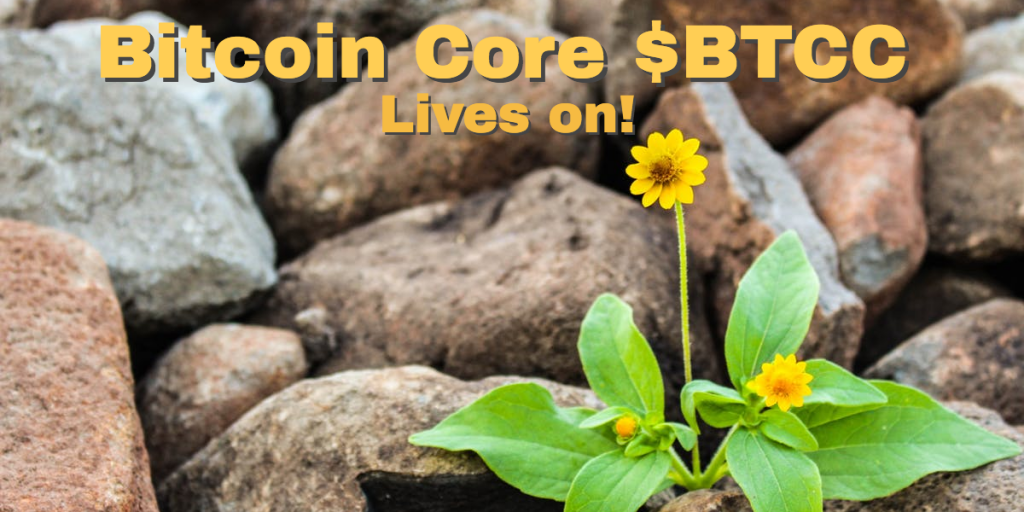 BTCC Bitcoin Core lives on.