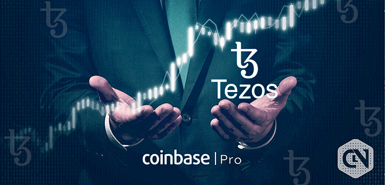 Tezos released in stages on coinbase